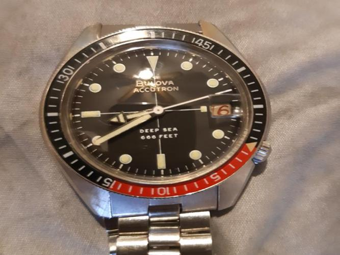 1970 Bulova Accutron Deep Sea watch