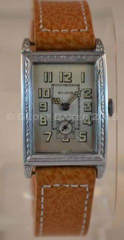 Geoffrey Baker 1928 Bulova Dictator watch 02172016