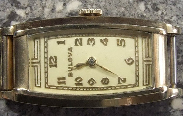 1935 Bulova FARRAGUT watch