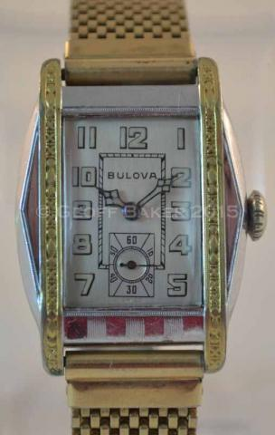 Geoffrey Baker 1931 Bulova Bertram watch 02172016