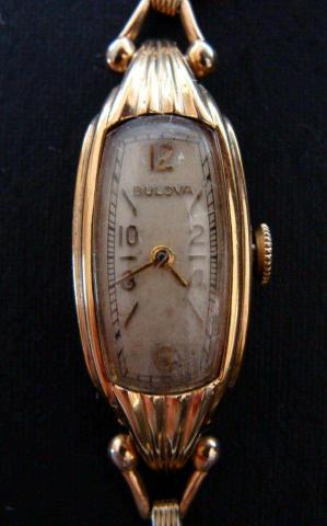 1939 Debutante Bulova watch