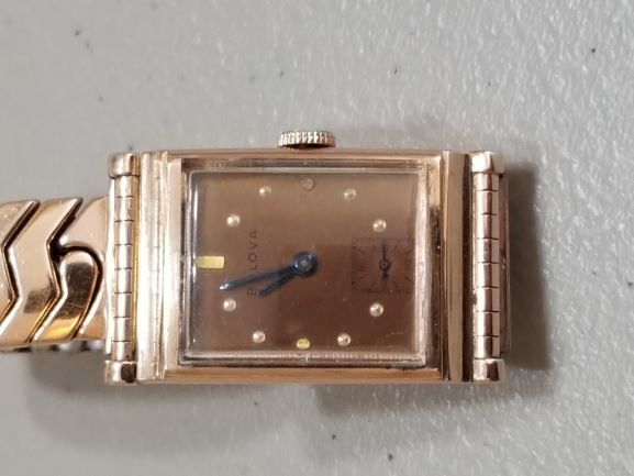 1941 Bulova Braodcaster watch
