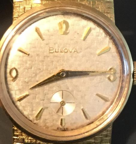 1963 Bulova American Eagle watch