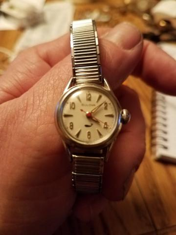 1972 Bulova Aqua Queen watch