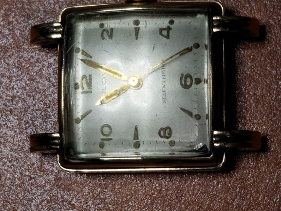 1951 Bulova Duo Wind watch