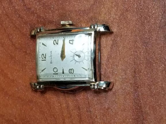 1952 Bulova Byron watch