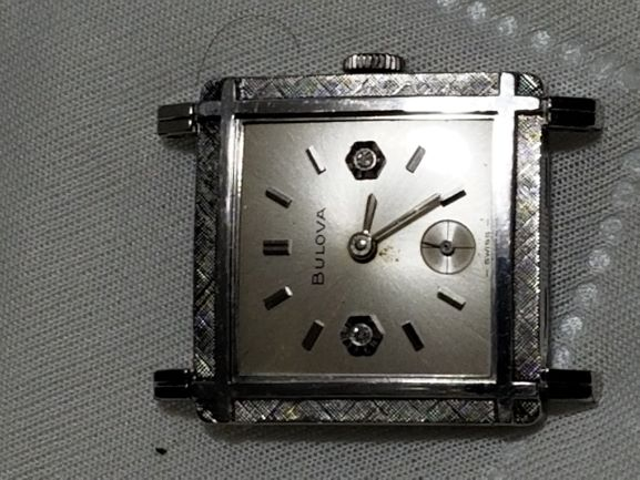 1967 Bulova Diamond Excellency watch