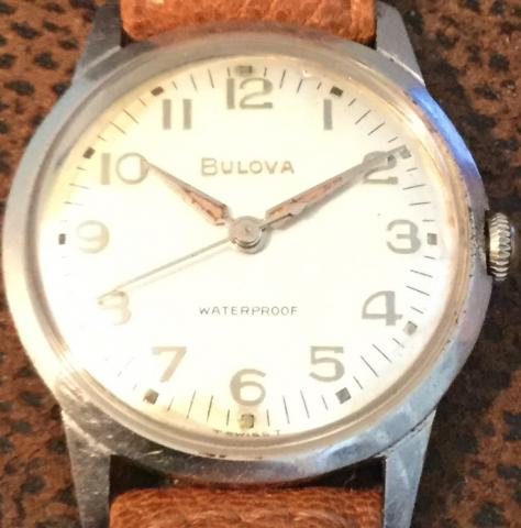 1967 Bulova  Sea King A watch