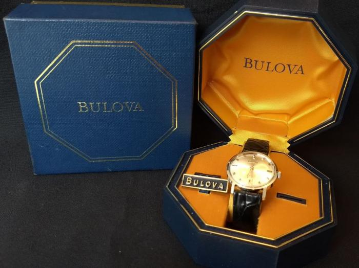 Bulova Watch advert