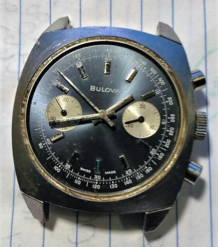 [1970] Bulova Chronograph watch  -not for sale-