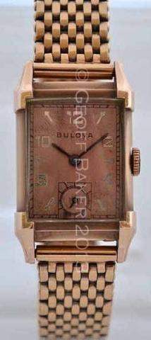 Geoffrey Baker 1947 Bulova His Excellency watch 12 1 2013