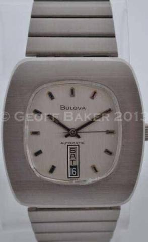 Geoffrey Baker 1973 Bulova Jet Star C Watch 11 29 2013