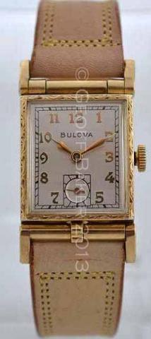 Geoffrey Baker 1950 Bulova Photo Flip Watch 12 1 2013