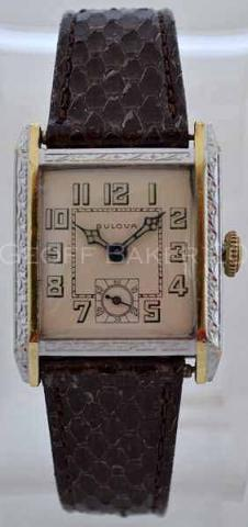 Geoffrey Baker 1930 Bulova Unknown Model III 11 19 2013