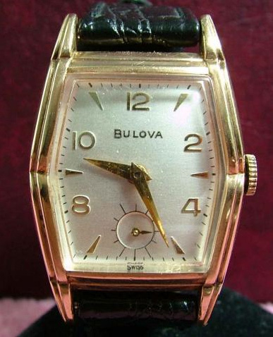 1954 Bulova Chadwick watch