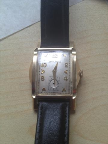 Bulova watch, 1955, 11AC movement, missing sub second hand