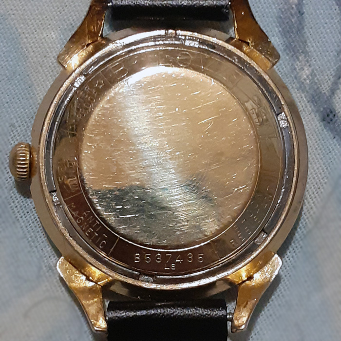 [1956] Bulova watch back