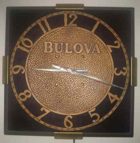 Bulova electric clock, Synchron movement