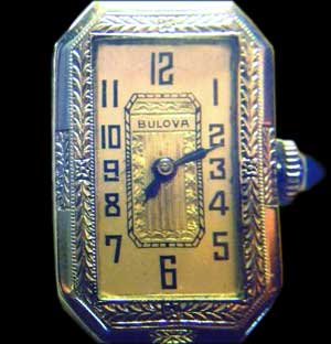 1928 Bulova Baroness watch