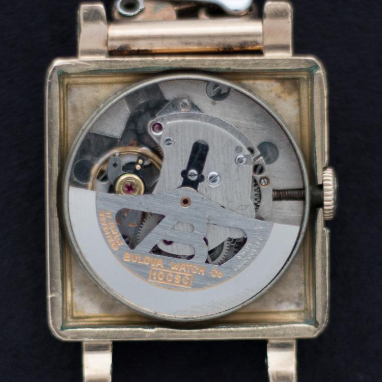 1954 Bulova 10CSC watch movement