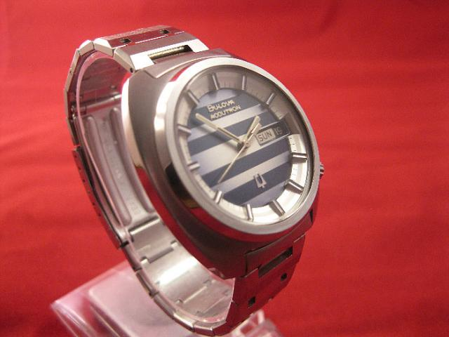 how to change date on a bulova watch
