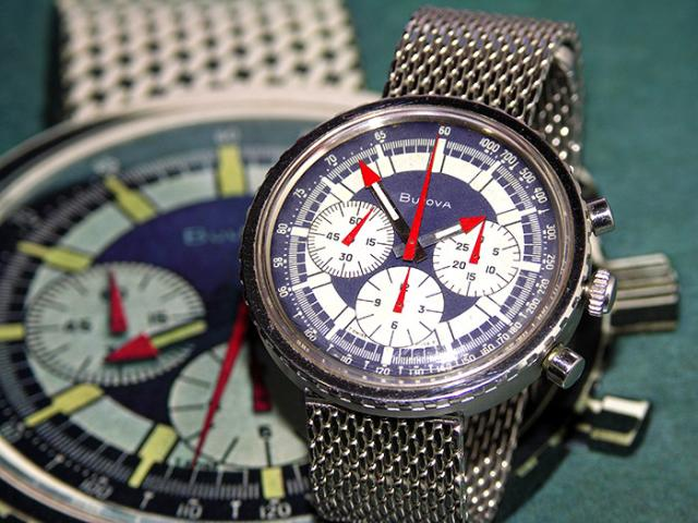 "1970 Bulova Chronograph ""C"" watch"