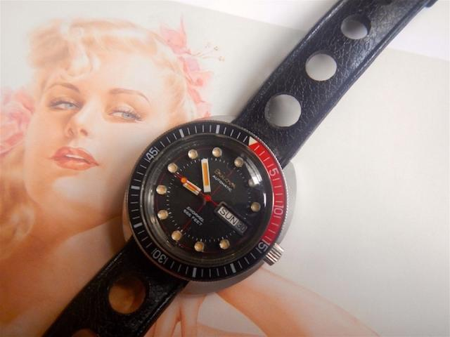 1973 Bulova Snorkel Day and Date