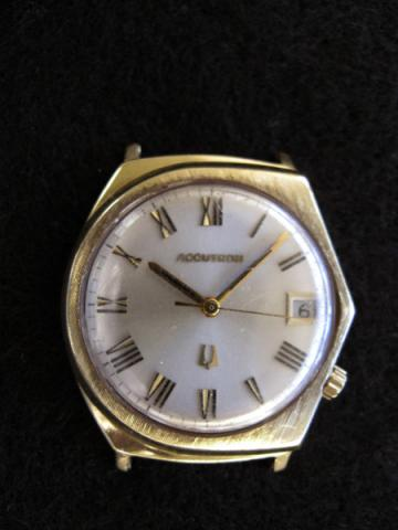 1967 Bulova Accutron Face