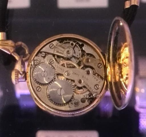 1917 Bulova Rubaiyat watch movement