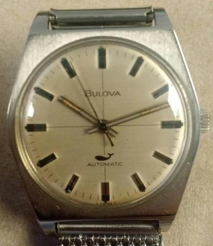 1969 Golden Clipper A Bulova watch