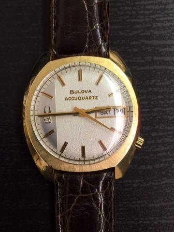 Accuquartz 1973 Bulova watch