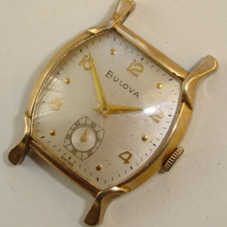 1955 Minute Man Bulova watch