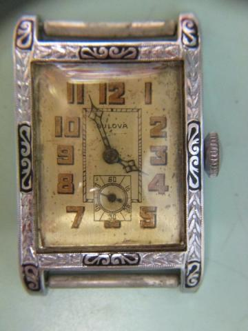 1927 President Madison Bulova watch