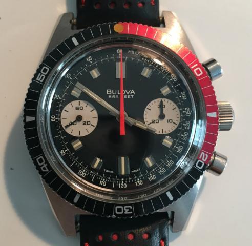 1970 Bulova Chronograph B