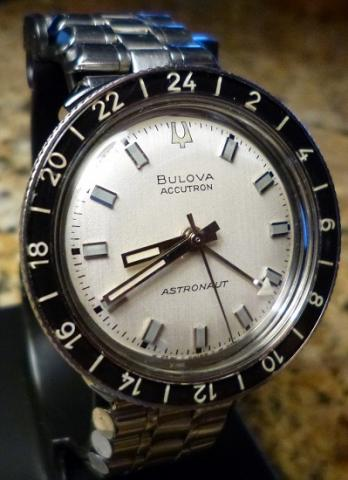 1968 Bulova Astronaut watch