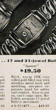 1942 Bulova Spencer