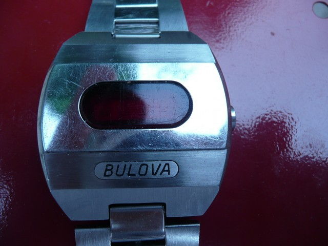 1974 Accuquartz Bulova watch