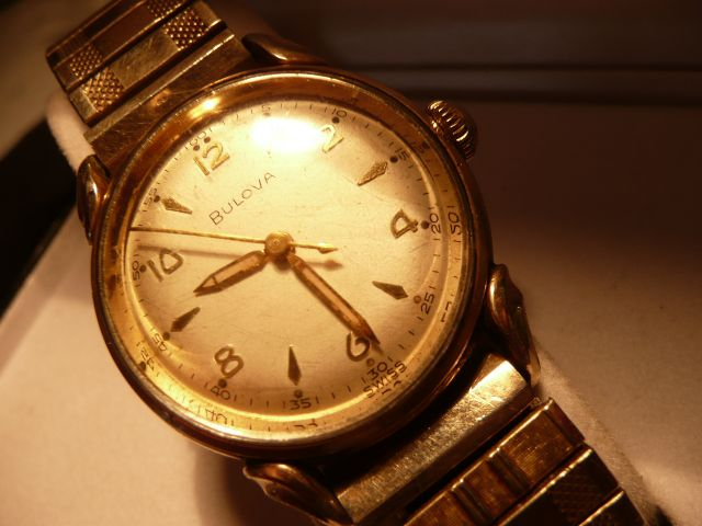 1953 Bulova Commodore Watch