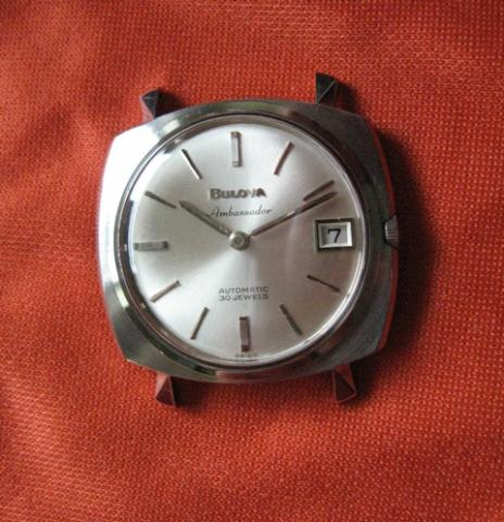 Ambassador 1965 Bulova watch