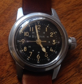 1967 Military Issue Bulova Watch