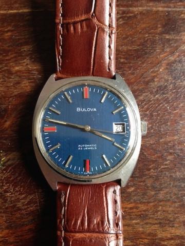 1969 Bulova Golden Clipeer watch