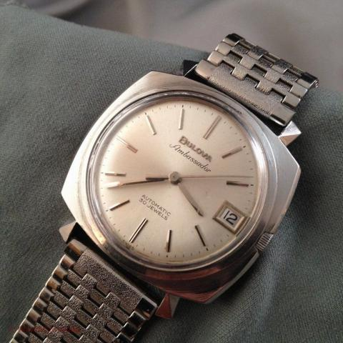 1967 Bulova Ambassador watch
