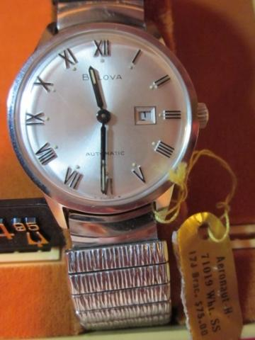 1968 Bulova Aeronaut H watch