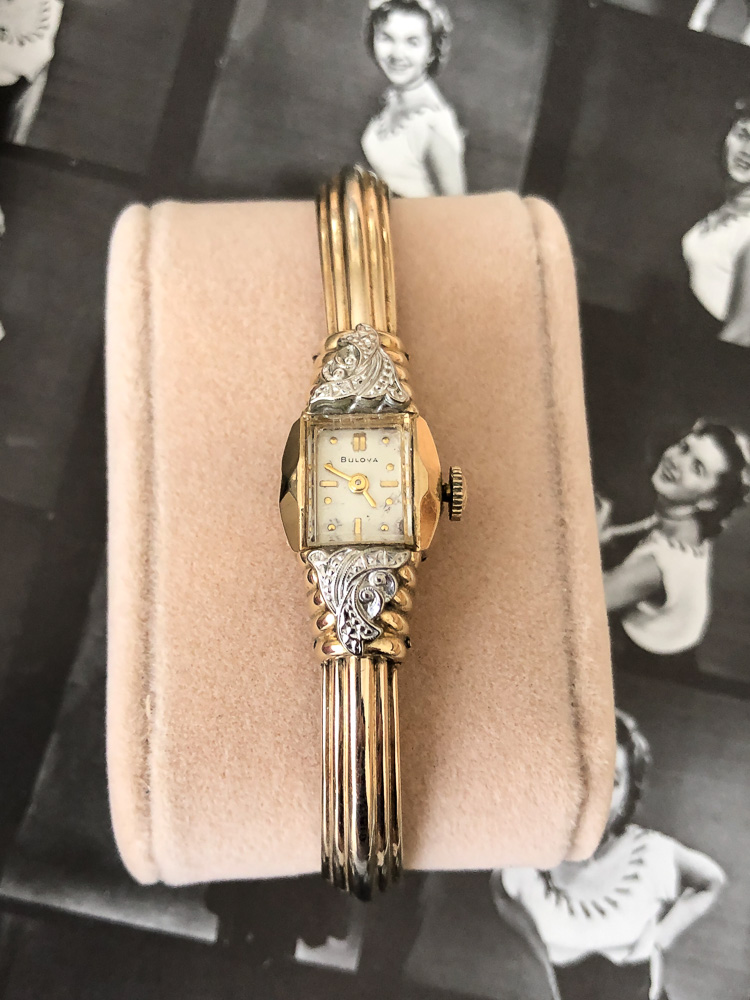 1952 Bulova American Girl Z watch