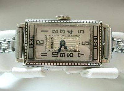 1927 Bulova solid 14k watch