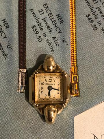 1949 Bulova Her Excellency K watch