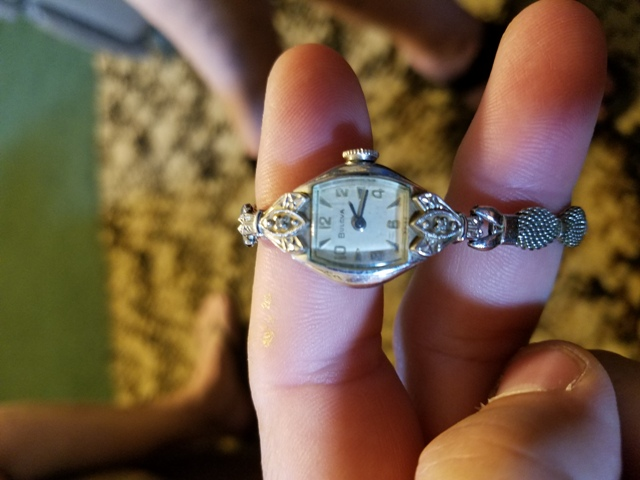 1943 Bulova Diamond Dream A  watch