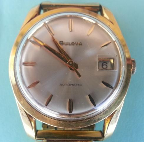 1964 Automatic Waterproof Bulova watch AeroJet