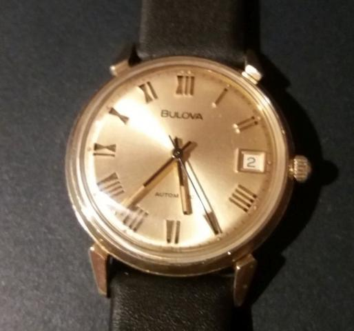 1973 Bulova Clipper watch