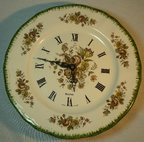 ATO Licensed Bulova France K & G Luneville wall clock